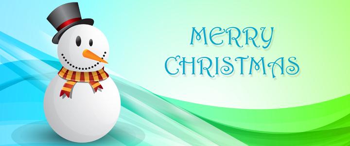 Snowman Christmas Greeting Card 1013