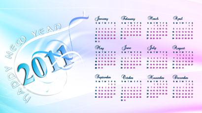 2011 Calendar 944