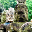 Statues from Angkor Wat 999