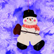 Snowman Ornament 1017