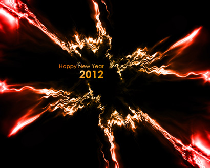 Years Desktop Pictures on New Year 2012 Goldenrod Red Abstract Wallpaper 1026  Free Photos